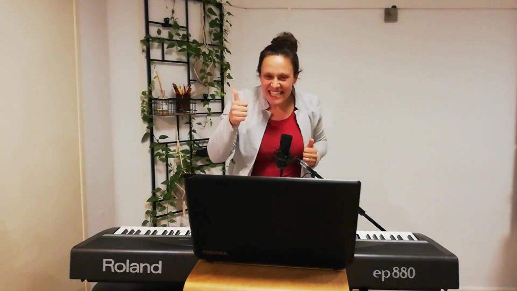 Online zangles live voorbeeld