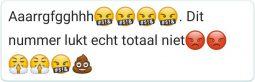 WhatsApp zangles statement dit nummer lukt echt niet2